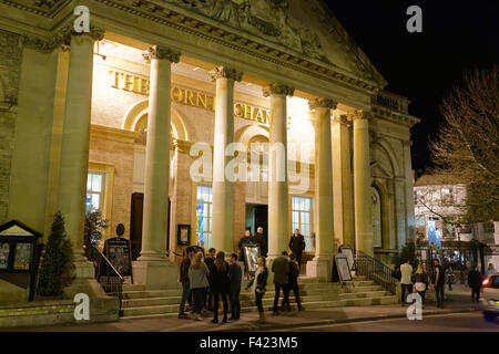 Wetherspoons in the Corn Exchange at Bury St Edmunds, UK - Stock Photo