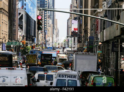 Streets of New York - Stock Photo