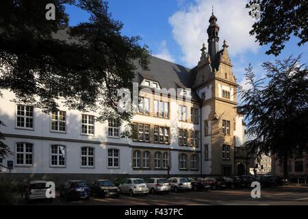 Humanistisches Gymnasium Petrinum in Recklinghausen, Ruhrgebiet, Nordrhein-Westfalen - Stock Photo
