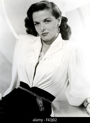 JANE RUSSELL (1921-2011) US film actress about 1953 - Stock Photo