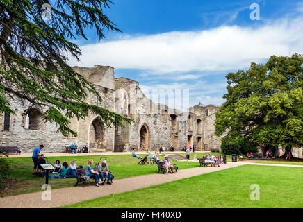 The ruins of Newark Castle, Newark-on-Trent, Nottinghamshire, England, UK - Stock Photo