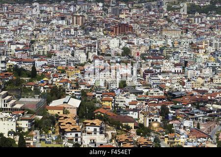cityscape Alanya Turkey - Stock Photo