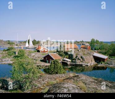 Stockholm archipelago, Sweden. - Stock Photo