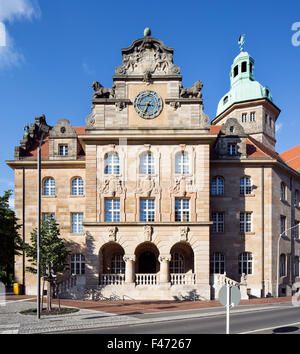 University, Bamberg, Upper Franconia, Bavaria, Germany - Stock Photo