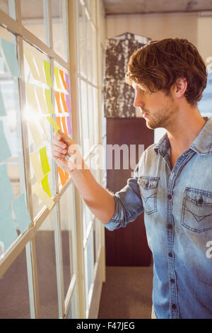 Young creative businessman - Stock Photo