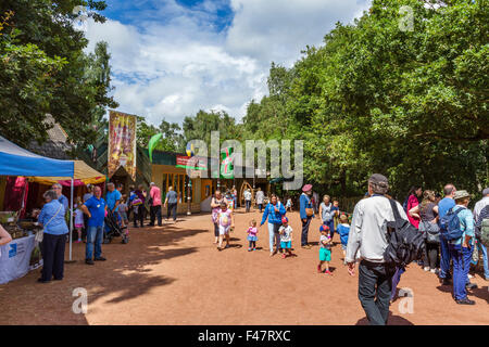 The Robin Hood Festival in August 2015,  Sherwood Forest Country Park, Edwinstowe, Nottinghamshire, England, UK - Stock Photo
