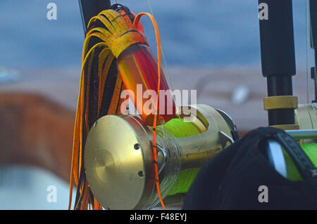 Lure ready for fishing - Stock Photo