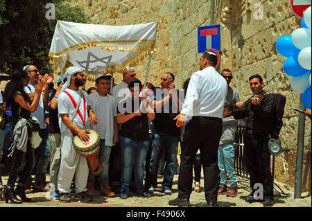 Bar Mizwa, Old City, Jerusalem, Israel. - Stock Photo