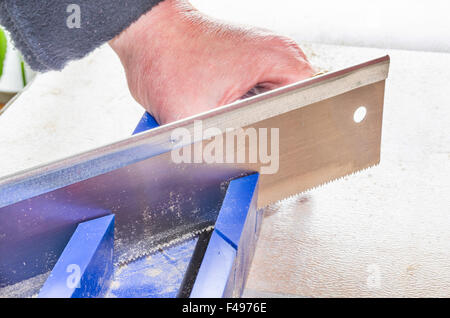 Miter Saw - Stock Photo