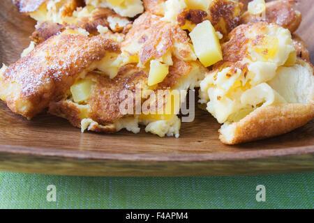 Mango Omelett - Mango Omelet - Stock Photo