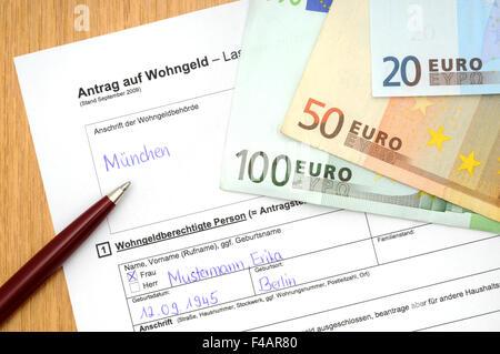 Housing allowance application Stock Photo, Royalty Free Image ...