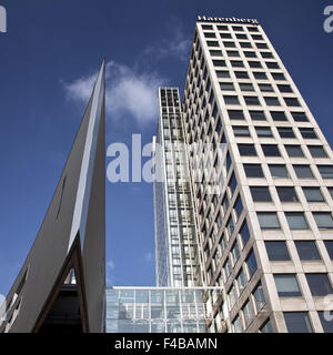 Harenberg City Center, Dortmund, Germany. - Stock Photo