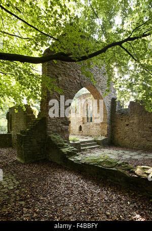 Sylvester Chapel Weitmar, Bochum, Germany. - Stock Photo