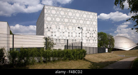 New synagogue in Bochum, Germany. - Stock Photo