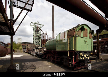Henrichshuette Hattingen Steelworks, Germany. - Stock Photo