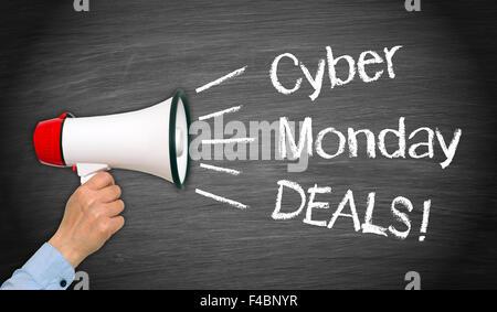 Cyber Monday Deals ! - Stock Photo