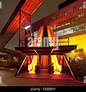 Gangway, Zollverein, Essen, Germany - Stock Photo