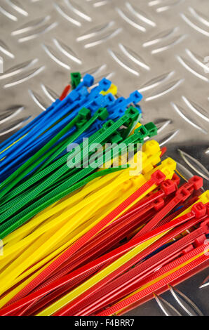 Set colored cable ties, close up Stock Photo: 278244963 - Alamy