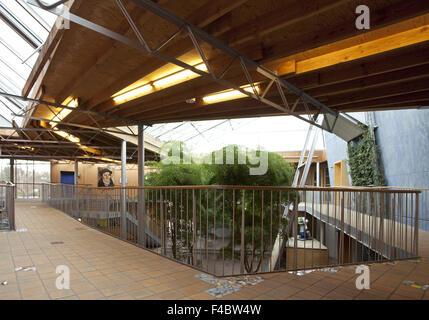 Comprehensive school Gelsenkirchen Bismarck - Stock Photo