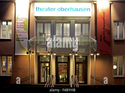 Theater Oberhausen, Germany - Stock Photo