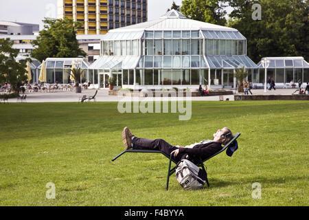 Grugapark, Essen, Germany - Stock Photo