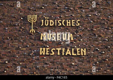 Jewish Museum of Westphalia, Dorsten, Germany - Stock Photo