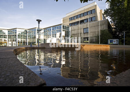 Town Hall and City Hall, Kamen, Germany - Stock Photo