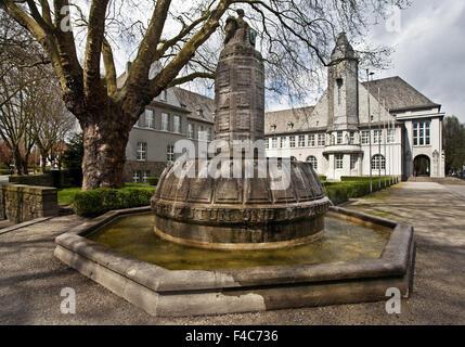 Town Hall, Schwerte, Germany - Stock Photo