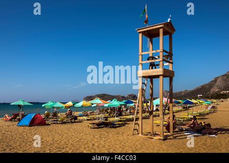Falasarna Beach, Crete. - Stock Photo