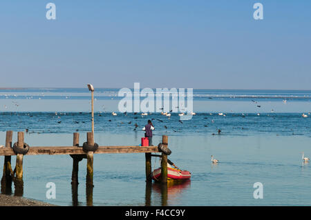 Walvis Bay, Erongo Region, Namibia. - Stock Photo
