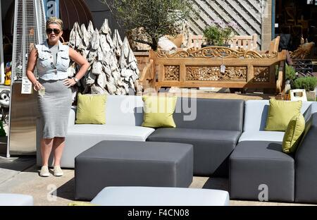 kerry katona attends the garden furniture centre showroom product launch at yew tree farm shopping village - Garden Furniture Kerry