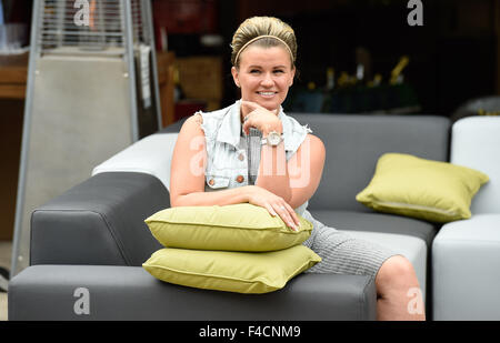 Garden Furniture Kerry kerry katona attends the garden furniture centre showroom product