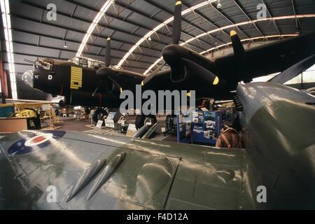 Australia, Western Australia, Perth, Bull Creek, Raaf Air Museum in Lancaster World War II Bomber. (Large format - Stock Photo