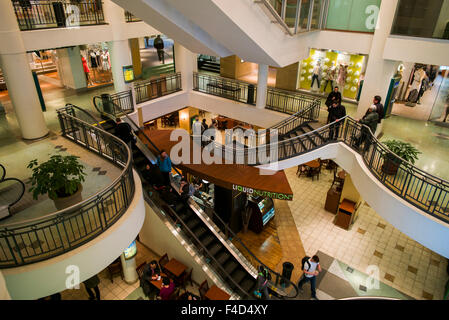 Canada, Montreal, Les Cours Mont-Royal, shopping center, interior - Stock Photo