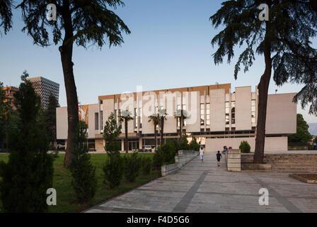 Albania, Tirana, National Art Gallery - Stock Photo