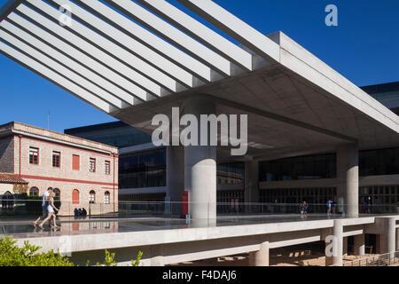 Central Greece, Athens, the New Acropolis Museum, exterior - Stock Photo