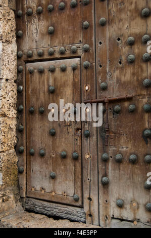 Door Knockers. The old city has ornately carved heavy wooden doors ...