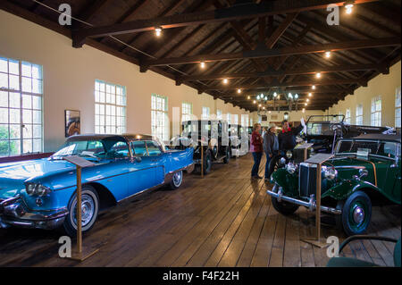 North Carolina, Asheville, Estes-Winn Memorial Automobile Museum, interior - Stock Photo