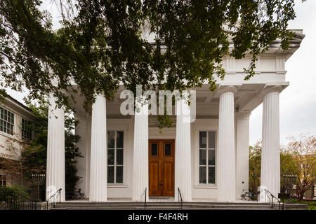 South Carolina, Charleston, Kahal Kadosh Beth Elohim Synagogue, oldest continuously used synagogue in the exterior - Stock Photo