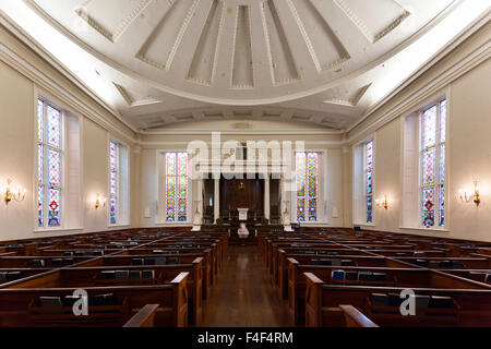 South Carolina, Charleston, Kahal Kadosh Beth Elohim Synagogue, oldest continuously used synagogue in the interior - Stock Photo