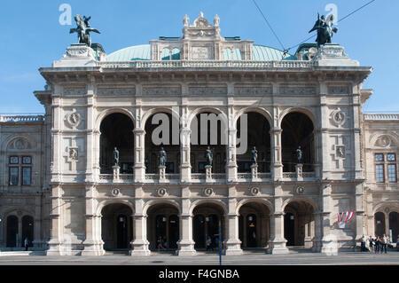 Staatsoper (State Opera) building, Vienna / Wien - Stock Photo