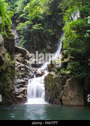 Phlio waterfall National Park In Chanthaburi - Stock Photo