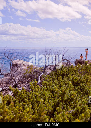 The Sculpture Park, Punta Sur, Isla Mujeres, Quintana Roo, Mexico. - Stock Photo