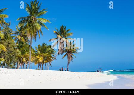 Canto de la Playa, Saona Island, Parque Nacional del Este, Punta Cana, Dominican Republic, West Indies, Caribbean - Stock Photo