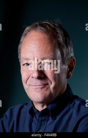 Tom Drury, the American novelist, at the Edinburgh International Book Festival 2015. Edinburgh, Scotland. 28th August - Stock Photo
