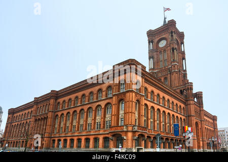 Berlin city hall, (rathaus),  Alexanderplatz,  Germany. - Stock Photo