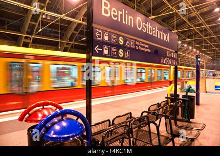 Metro Station, Berlin, Germany. - Stock Photo