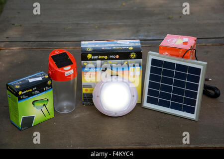 Low Cost Clean Green Solar Powered S20 Study D Light Kenya