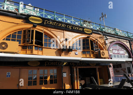 The Fortune of war pub on Brighton seafront UK