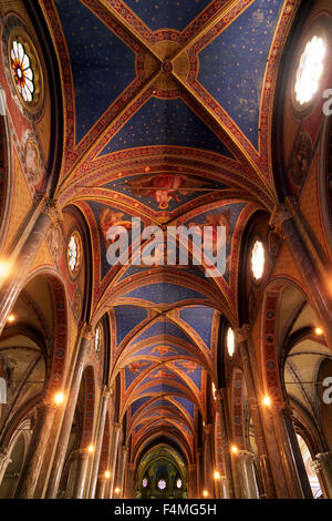 italy, rome, church of santa maria sopra minerva - Stock Photo